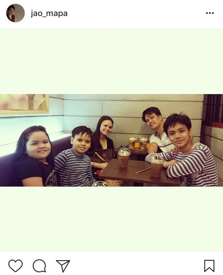 IN PHOTOS: Jao Mapa with his lovable family