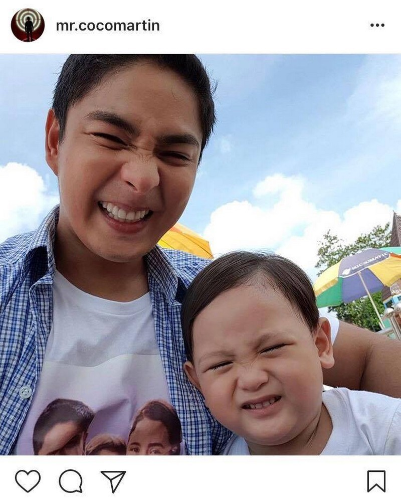 33 Adorable Moments of Coco Martin with his favorite baby!