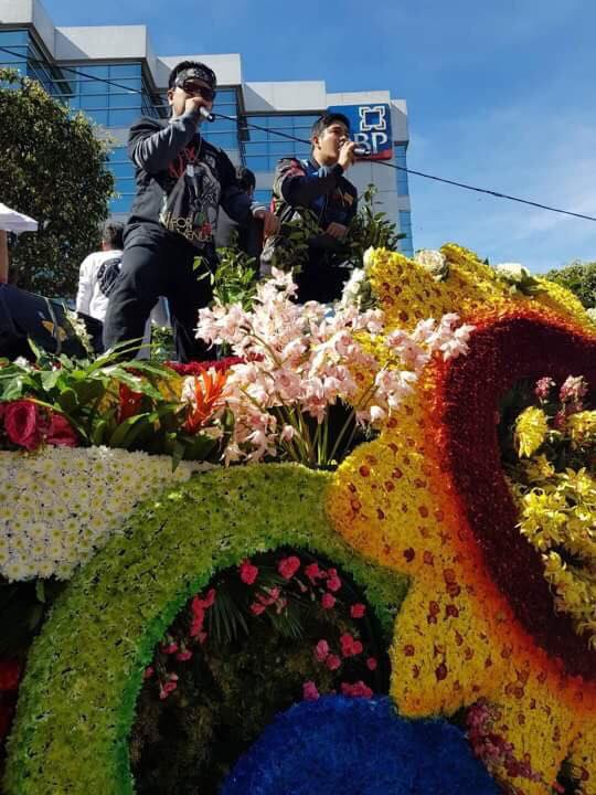 LOOK: FPJ Ang Probinsyano Stars join Panagbenga parade in Baguio