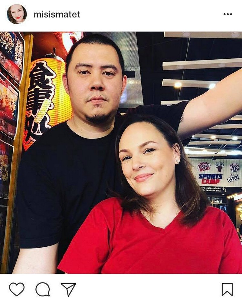 "LOOK: Matet De Leon with her ""boy sungit"" for life!"