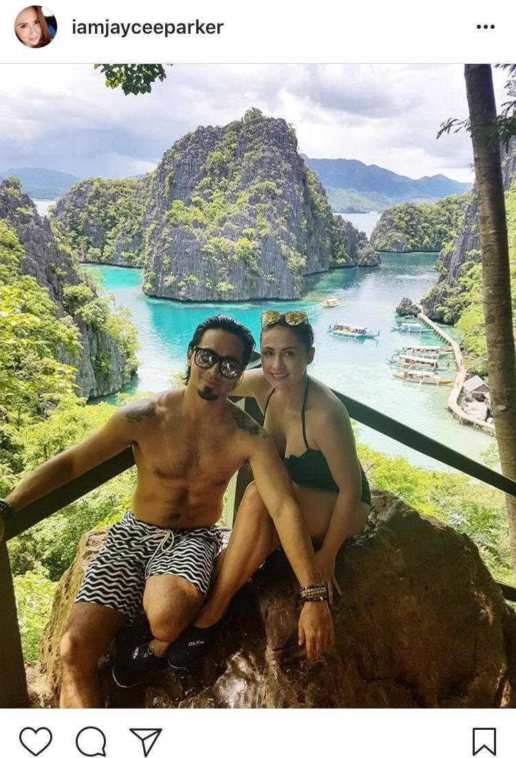 IN PHOTOS: Jaycee Parker with her lovable future husband