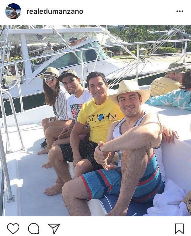fb2109fd0c47 LOOK  Meet Edu Manzano s good-looking kids in these rare family photos