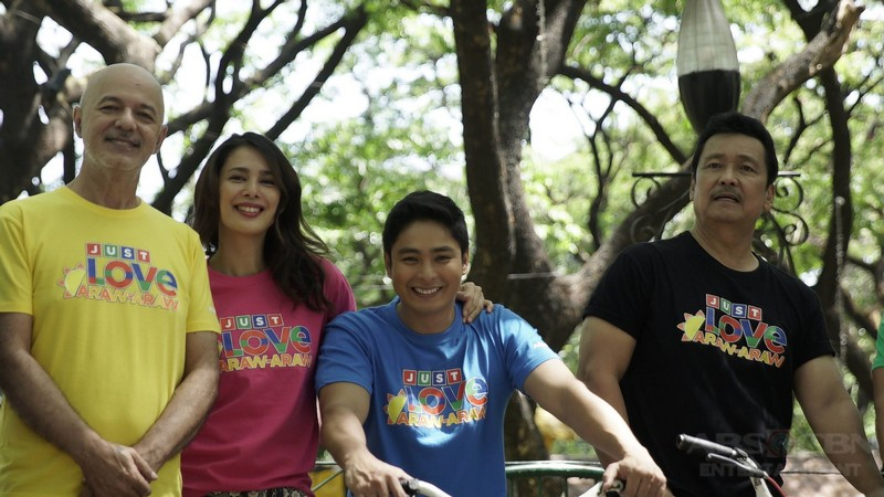 PHOTOS: Just Love Araw Araw with the cast of FPJ's Ang Probinsyano