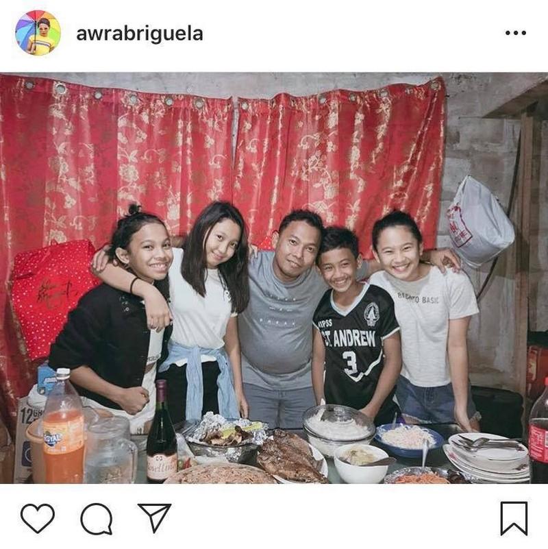 LOOK: Ang masayang pamilya ni Awra Briguela!