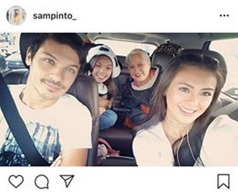 LOOK: Rare photos of Sam Pinto with her hottie boyfriend