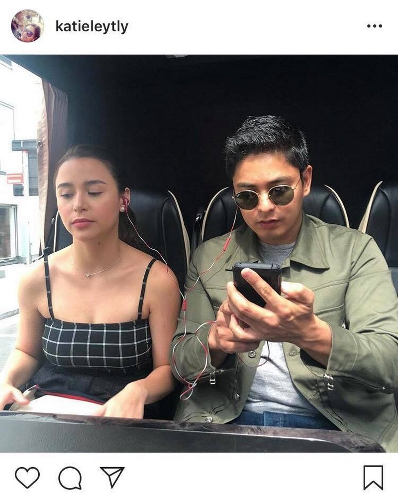 "LOOK: More ""kilig"" stolen moments of CarYana in London!"