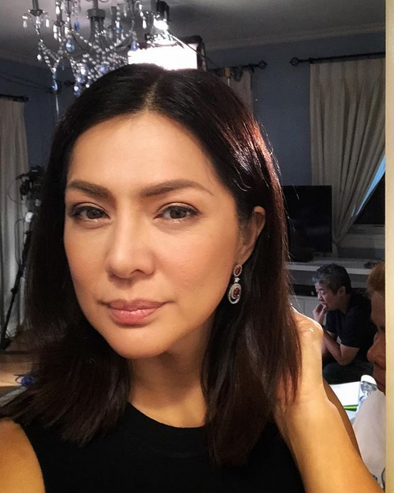 On the set of FPJ's Ang Probinsyano: Alice Dixson as Catherine Cabrera