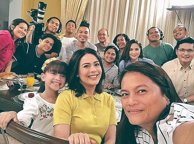 On the set of FPJ's Ang Probinsyano: Pamilya Hidalgo sa likod ng kamera