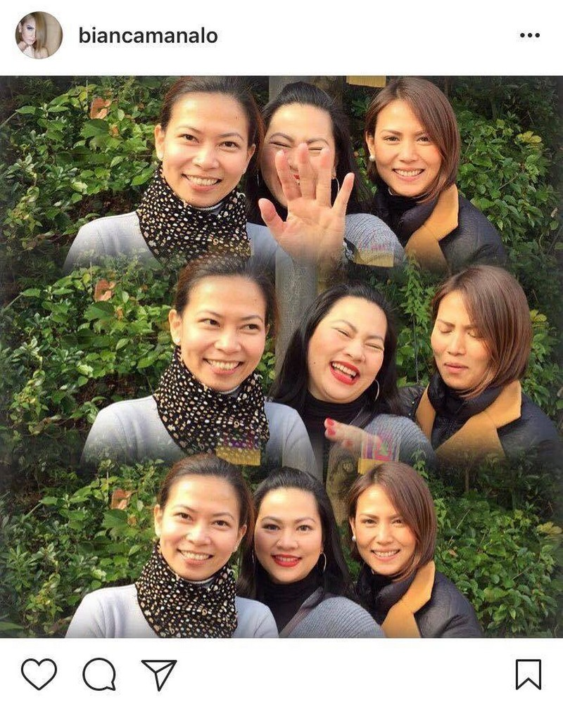 Photos of Bianca Manalo with her beautiful sisters
