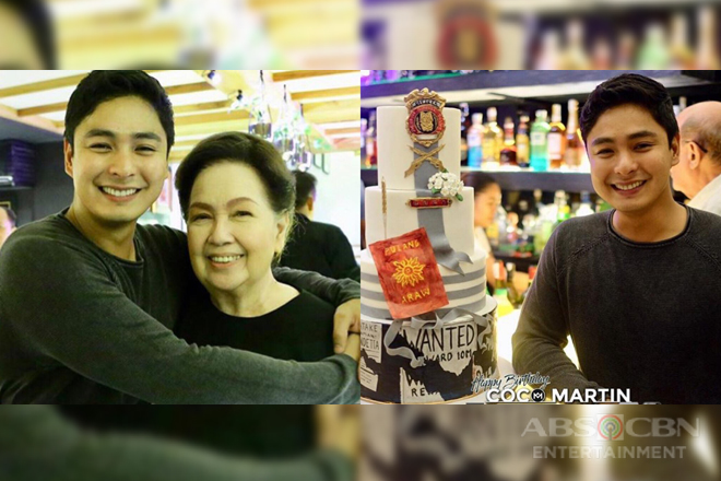 IN PHOTOS: Coco Martin celebrates birthday with