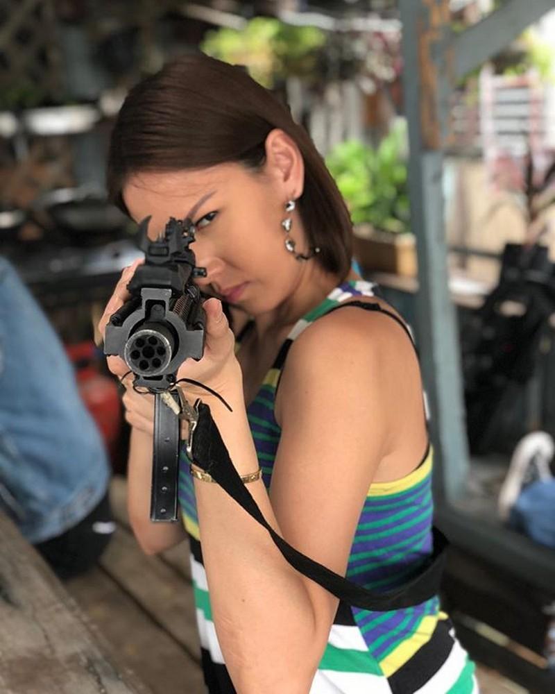 LOOK: Beauty Queen Bianca Manalo bilang astig na si Bubbles