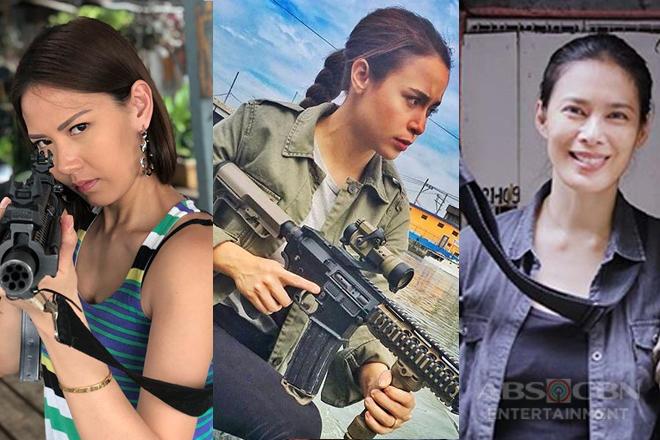 On the set of FPJ's Ang Probinsyano: Ang mga binibini ng Vendetta