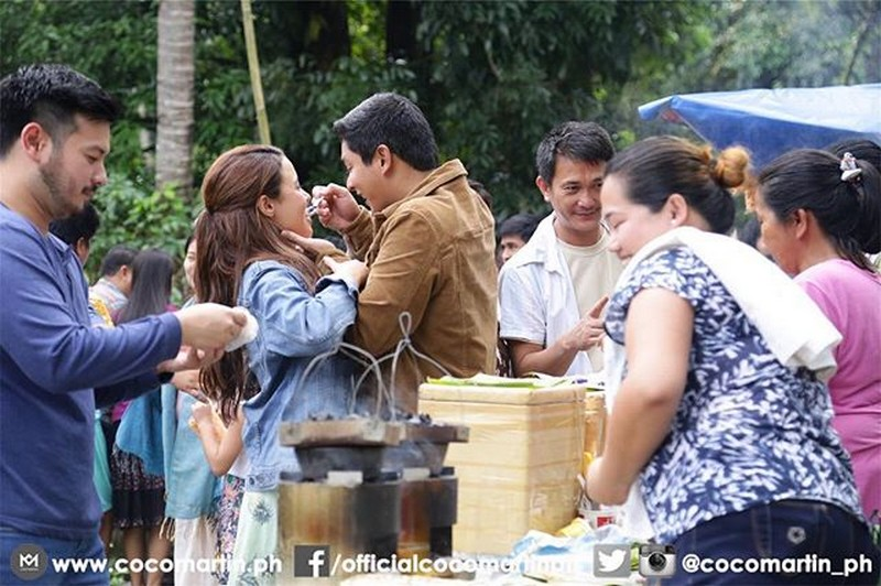 Behind-The-Scenes: Christmas and New Year celebration on FPJ's Ang Probinsyano