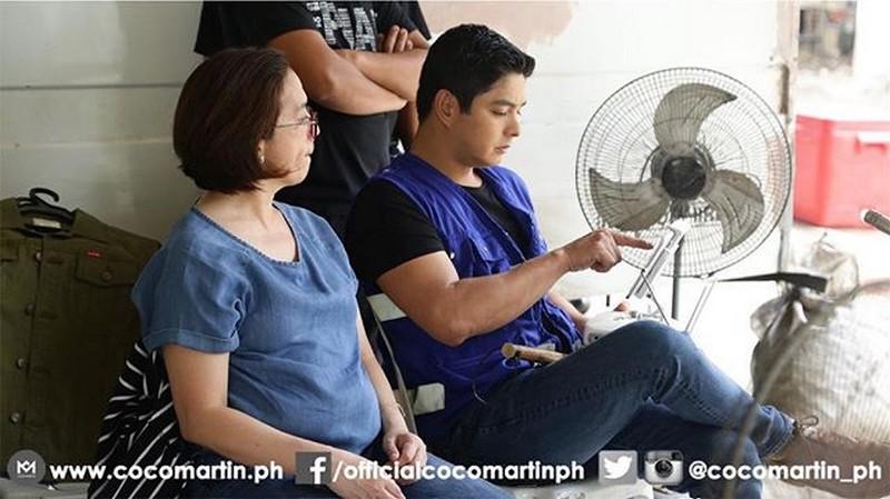 On the set of FPJ's Ang Probinsyano: Coco Martin sa likod ng kamera