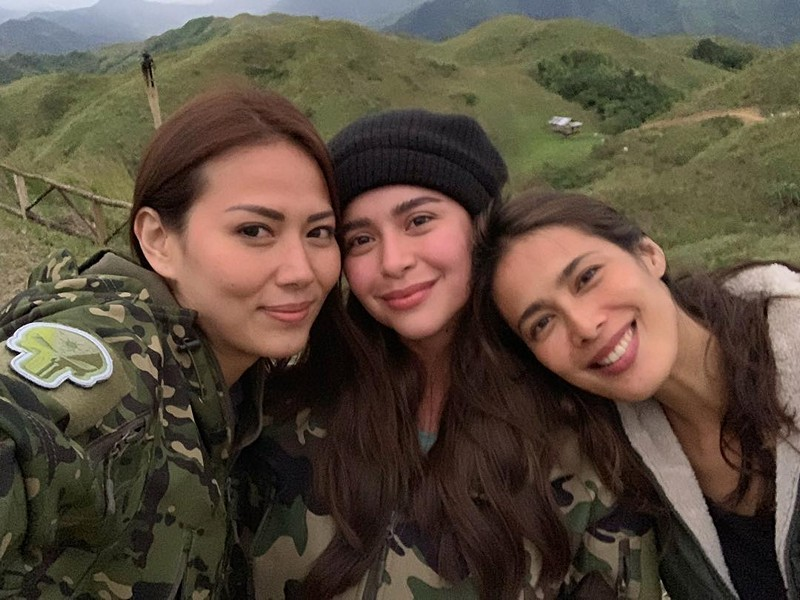 LOOK: Off cam bonding moments of Yassi, Angel and Bianca