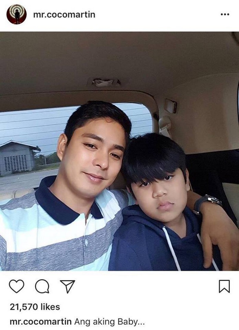 LOOK: Rare Photos of Coco Martin with his real-life babies