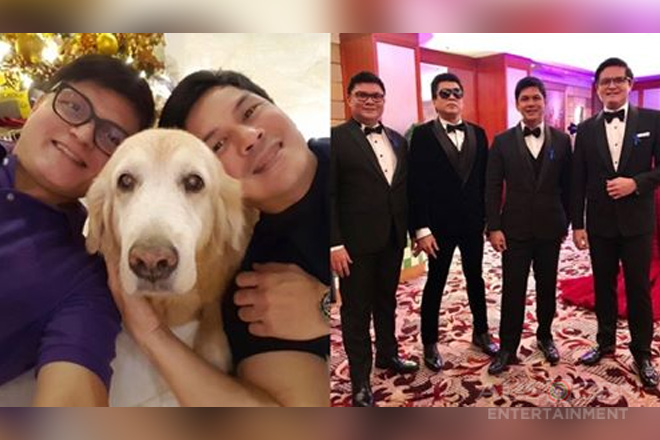 IN PHOTOS: Rowell Santiago with his showbiz royalty brothers