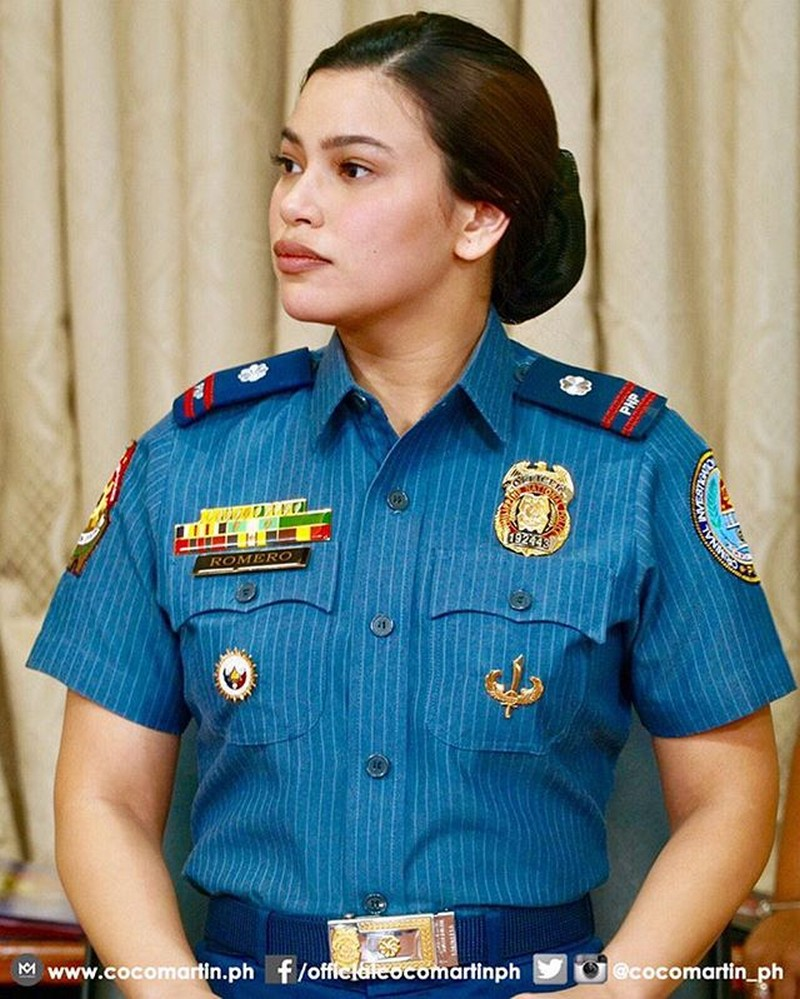 Behind-The-Scenes: Denise Laurel bilang si Police Major Alessandra Romero sa FPJ's Ang Probinsyano