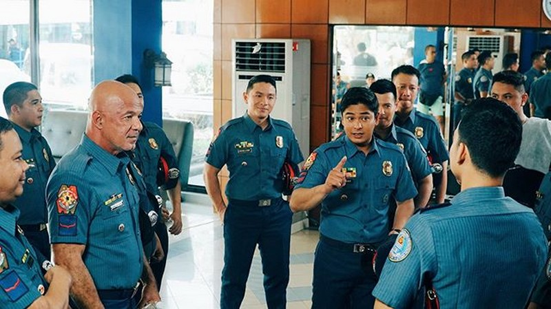 Behind-The-Scenes: Si Cardo at ang mga miyembro ng Presidential Anti-Crime Special Task Force