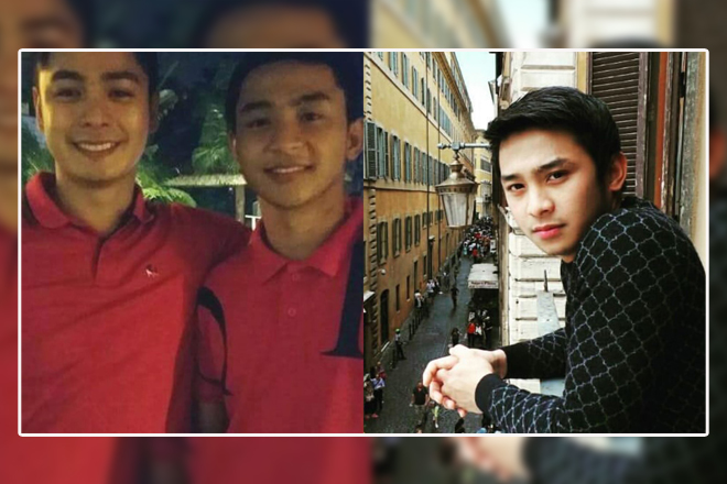 LOOK: Meet Coco Martin's handsome brother in these rare photos