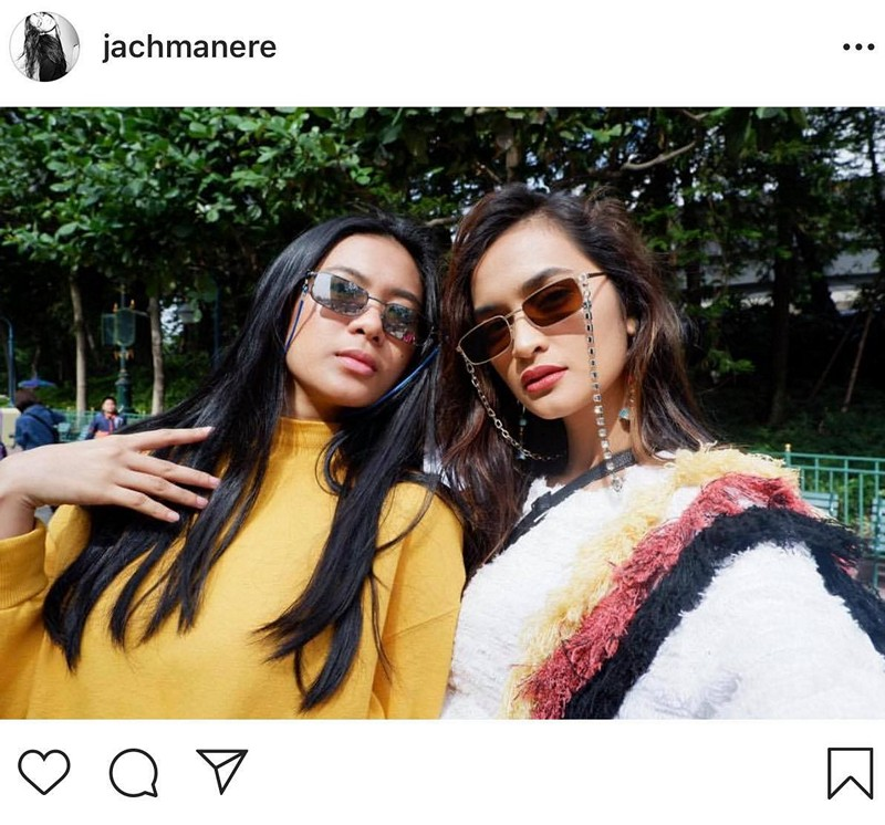 IN PHOTOS: Jachin Manere with her lovely rampadora sister