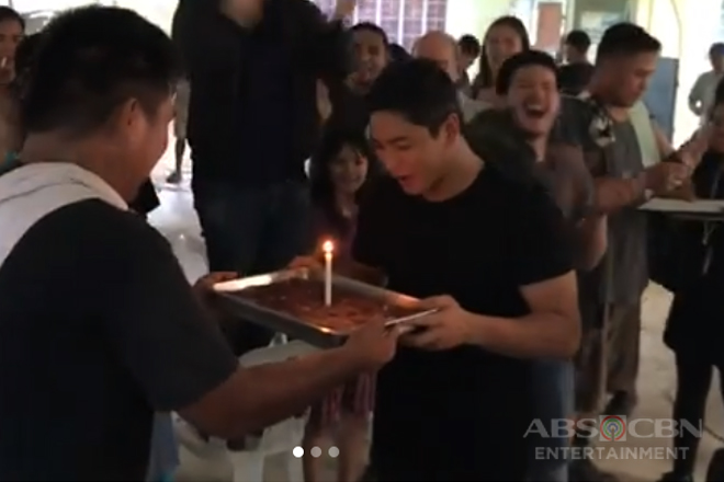 WATCH: Coco Martin gets another birthday surprise