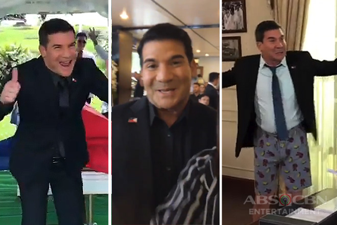 WATCH: 13 hilarious off-cam moments of Edu Manzano fooling around as Lucas Cabrera