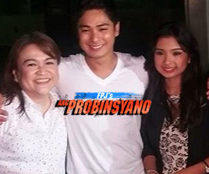 FPJ's Ang Probinsyano's Paloma (Coco Martin) and real-life Paloma, nagharap na!