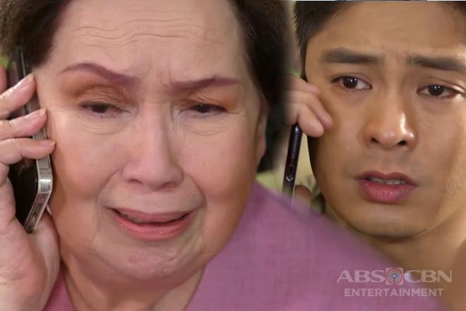 Ang Probinsyano: Lola Flora, naluha nang muling makausap si Cardo