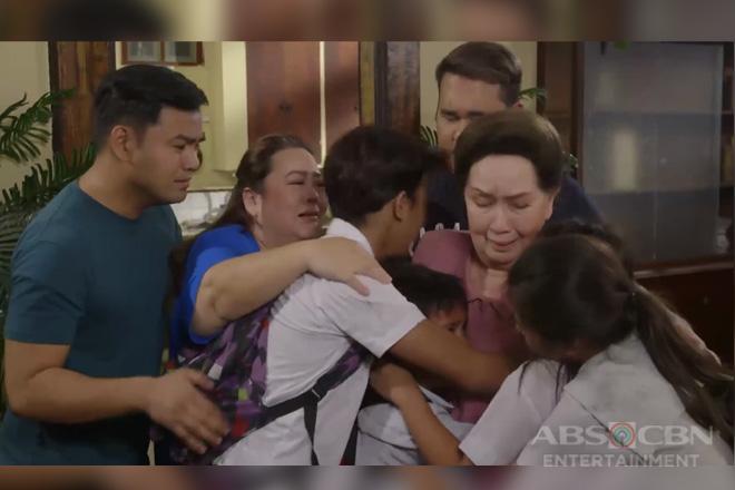 Ang Probinsyano: Lola Flora, masaya nang muling mayakap ang mga bata